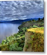 Okanagan Lake On A Thursday Metal Print