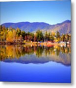 Okanagan Mountains Metal Print