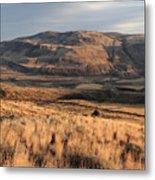 Okanagan Valley Sunset Glow Metal Print
