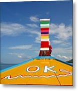 Okay In Thailand Metal Print