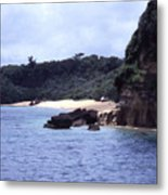 Okinawa Beach 10 Metal Print