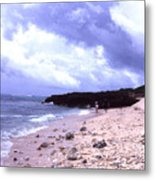 Okinawa Beach 15 Metal Print