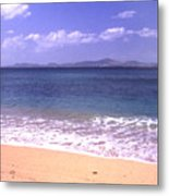 Okinawa Beach 16 Metal Print