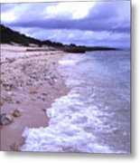 Okinawa Beach 17 Metal Print