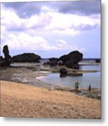Okinawa Beach 18 Metal Print