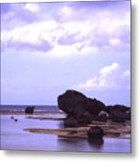 Okinawa Beach 20 Metal Print
