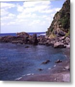 Okinawa Beach 5 Metal Print