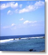 Okinawa Beach 7 Metal Print