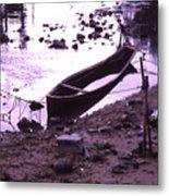 Okinawa Canoe Parking Metal Print