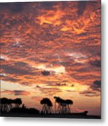 Okinawa Sunset Metal Print