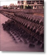 Okinawa Waves Metal Print