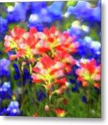 Oklahoma Wildflowers Metal Print