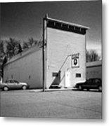 Old 10 Saloon Buffalo North Dakota Metal Print