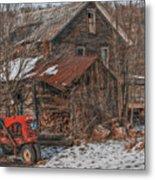 Old Abandoned Farm Homestead Metal Print
