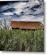 old abandoned house Texico NM Metal Print