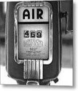 Old Air Pump Metal Print by Arni Katz