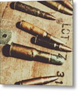 Old Ammunition Metal Print