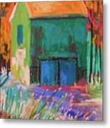 Old And Green  Metal Print by John Williams