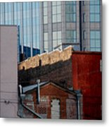 Old And New Close Together Metal Print