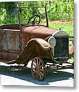 Old Antique Vehicle Metal Print by Douglas Barnett