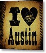 Old Austin Metal Print