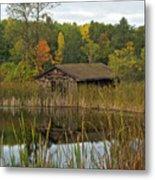 Old Bait Shop On Twin Lake_9626 Metal Print