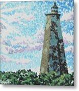 Old Baldy Lighthouse Metal Print