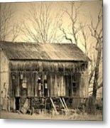 Old Barn-1 Metal Print
