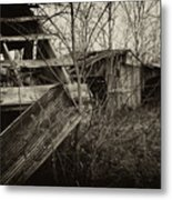 Old Barn 2b Metal Print