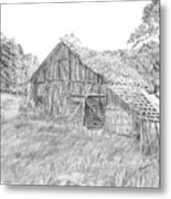 Old Barn 3 Metal Print