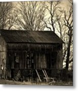 Old Barn-4 Metal Print