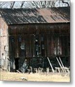 Old Barn-6 Metal Print