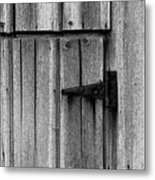 Old Barn Door Metal Print