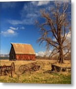Old Barn In Chester Metal Print