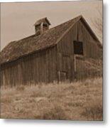 Old Barn In Washington Metal Print