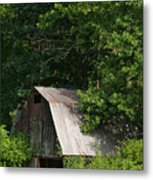 Old Barn. Metal Print