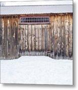 Old Barn Musterfield Farm Metal Print