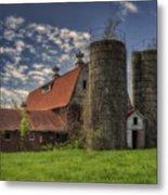 Old Barn Near Sedalia Mo Dsc01900 Metal Print