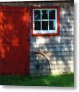 Old Barn New Paint Metal Print