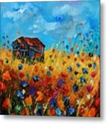 Old Barn  Metal Print by Pol Ledent
