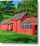 Old Barn Ridge Li.ny Metal Print