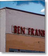 Old Ben Franklin Store 2 #vanishingtexas Rosebud Metal Print