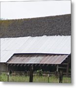 Old Big Barn Washington State Metal Print