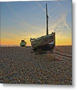 Old Boat, New Day Metal Print