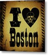 Old Boston Metal Print