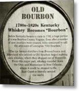 Old Bourbon Metal Print
