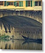Ponte Vecchio Protection Metal Print
