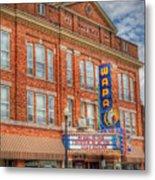 Old Brown Theater - Wapak Theater Metal Print