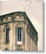 Old Building Metal Print