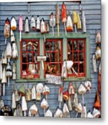 Old Buoys Metal Print